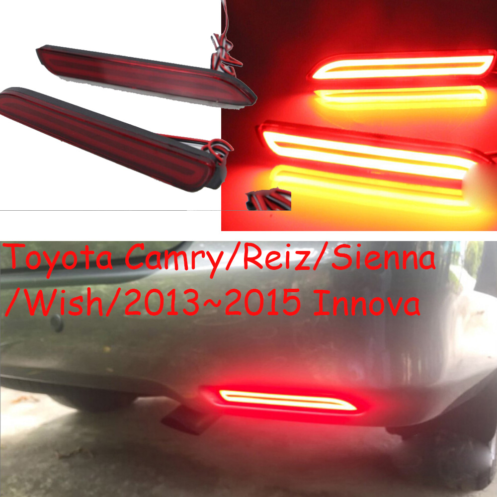 2013~2015 Innova rear light,LED,free ship!camry rear lamp,Wish taillight,Sienna fog light 2013 2016 innova daytime light free