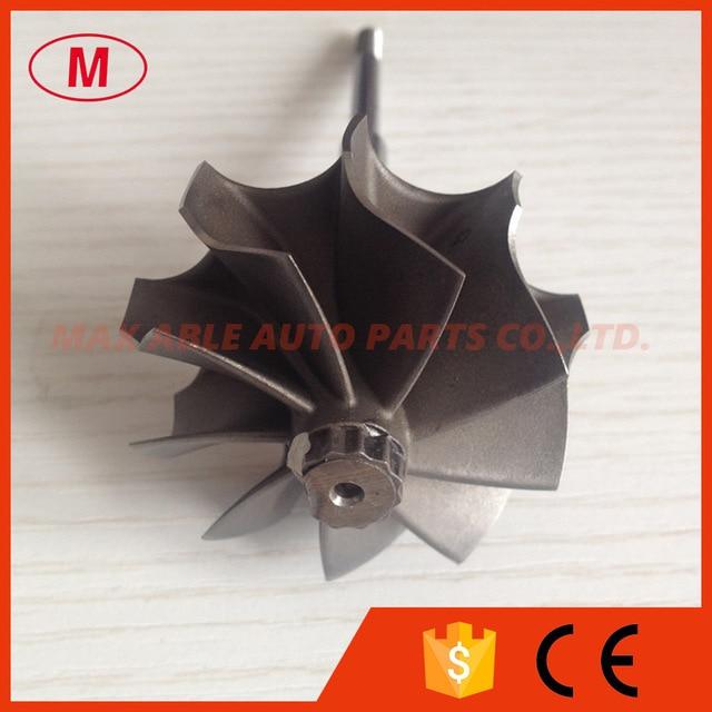 TD04HL  45.65/52mm 9 blades turbo wheel/ turbine shaft&wheel
