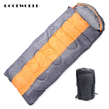 down sleeping bag autumn and winter outdoor adult envelope style thickening thermal duck down sleeping bag 400 1500g filling Enlarge Widen Adult Sleeping Bag Camping Mat Outdoor Camping Travel Hiking Thermal Hooded Envelope Multifunction Sleeping Bag