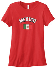 Womens Mexico Mexican Flag T-shirt  L Pride for New Fashion Style Harajuku Top Tee Cotton Casual Funny T Shirt