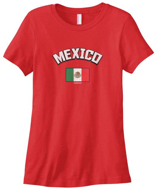 Women's Mexico Mexican Flag T-shirt  L Pride for New Fashion Style Harajuku Top Tee Cotton Casual Funny T Shirt Top Tee
