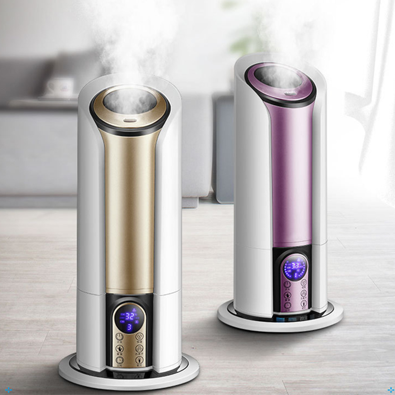 Ultrasonic Cool Mist Humidifiers LED Display Night Light Adjustable Mist Timer Essential Oil Diffusers with Remote Control keyshare dual bulb night vision led light kit for remote control drones