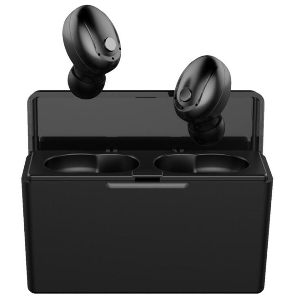 Hot <font><b>T5</b></font> <font><b>TWS</b></font> Bluetooth 5.0 Headset Wireless Mini Binaural Stereo Earphone Charging Compartment Waterproof Sports Fitness Headset image