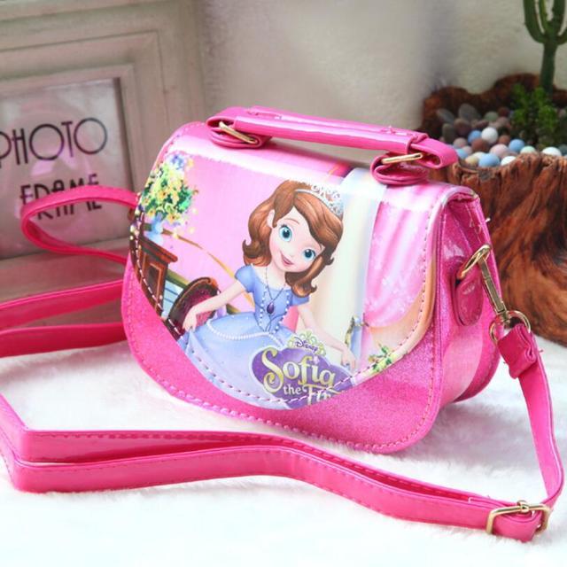 76ac9bb01f8 US $15.92 |New Fashion Girls Bags Sofia Handbag Girls Accessories Kids  Handbags Children PU Party princess Messenger bag For Girls on  Aliexpress.com | ...