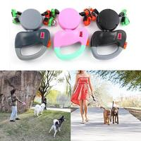ABS Automatic Retractable Traction Rope With Two headed Ccreative Dog Leash Dog Chain Pet Supplies Dog Accessories Pet Dog Leash