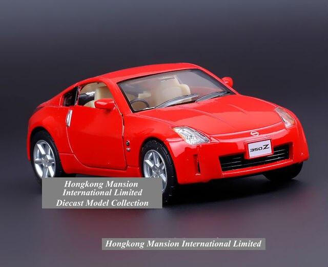 Échelle 1:36 alliage diecast metal modèle de voiture pour nissan
