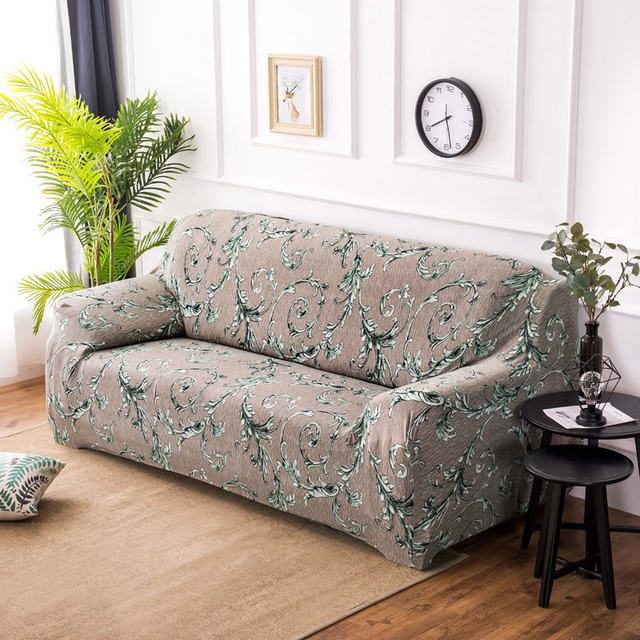 Universal 1/2/3/4 Seat sofa cover Printing couch cover floral Sofa ...