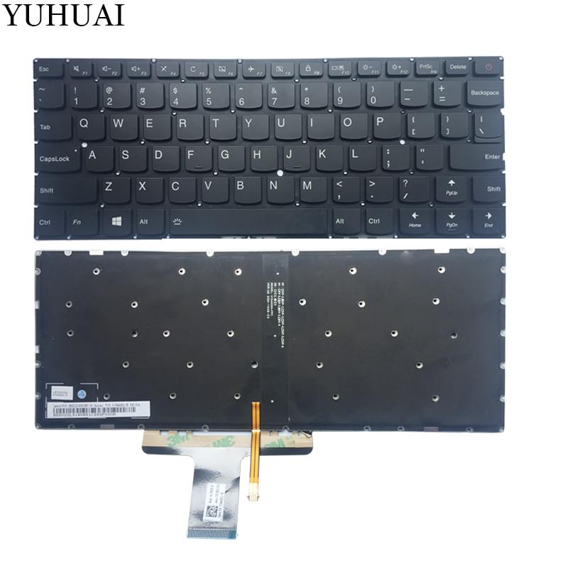 "New Lenovo IdeaPad 710S-13IKB 710S-13ISK Air 13 Pro 13.3/"" Keyboard US No Backlit"