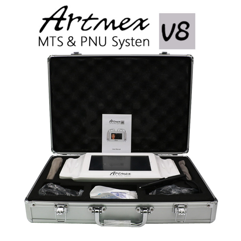 2018 High Quality Permanent Makeup machine digital Artmex V8 touch Tattoo Machine derma pen Rotary Pen MTS PMU System tattoo gun permanent makeup rotary tattoo machine tattoo gun for learner use