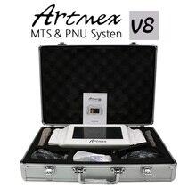 2018 High Quality Permanent Makeup machine digital Artmex V8 touch Tattoo Machine derma pen Rotary Pen MTS PMU System tattoo gun
