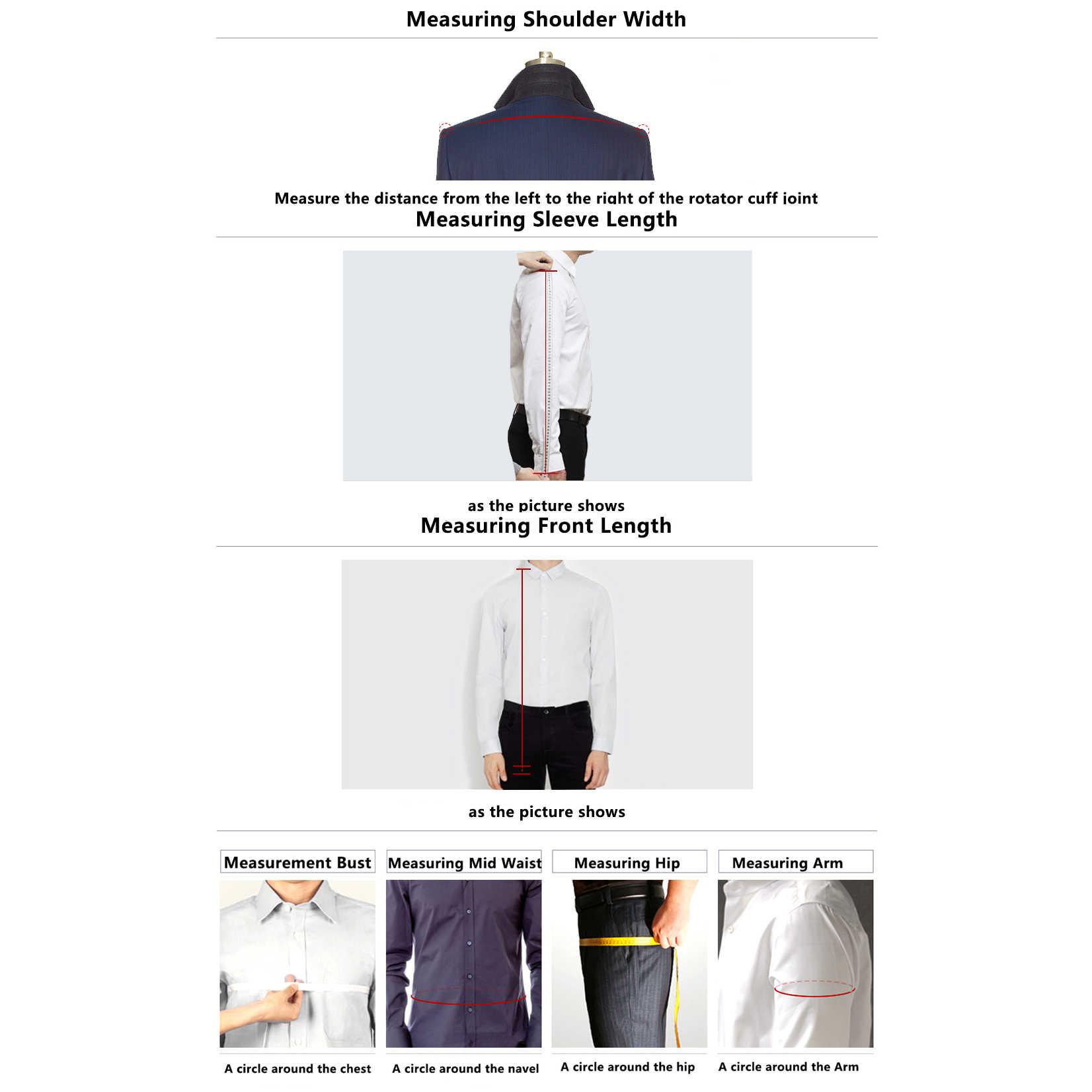 OSCN7 double boutonnage sur mesure costumes hommes Slim Fit fête de mariage hommes sur mesure costume 2019 3 pièce Blazer pantalon gilet ZM-586