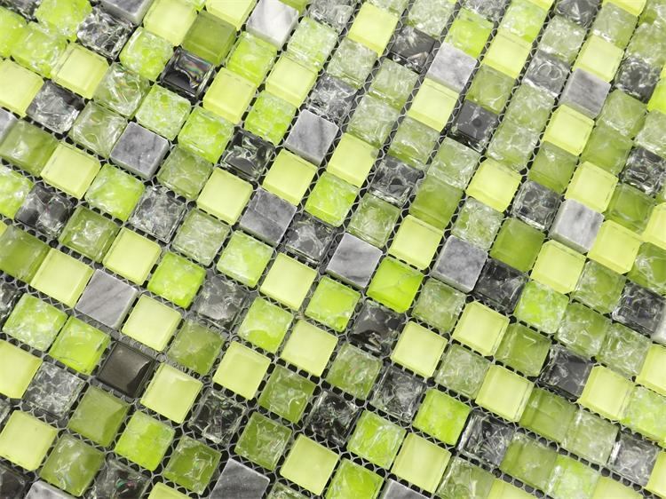 տան բարելավում, կանաչ սառցե ճաքճքված - Տնային դեկոր - Լուսանկար 3