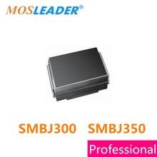 Mosleader TVS 750PCS SMBJ300 SMBJ350 SMBJ300A SMBJ350A SMBJ300CA SMBJ350CA DO214AA 300V 350V 600W Chinese High quality