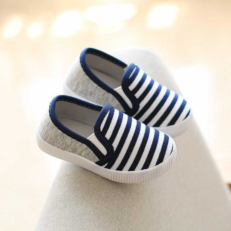 Демисезонный детская парусиновая обувь для маленьких мальчиков и девочек Повседневное спортивная обувь кроссовки детские обувь первые ходоки синий желтый красного цвета