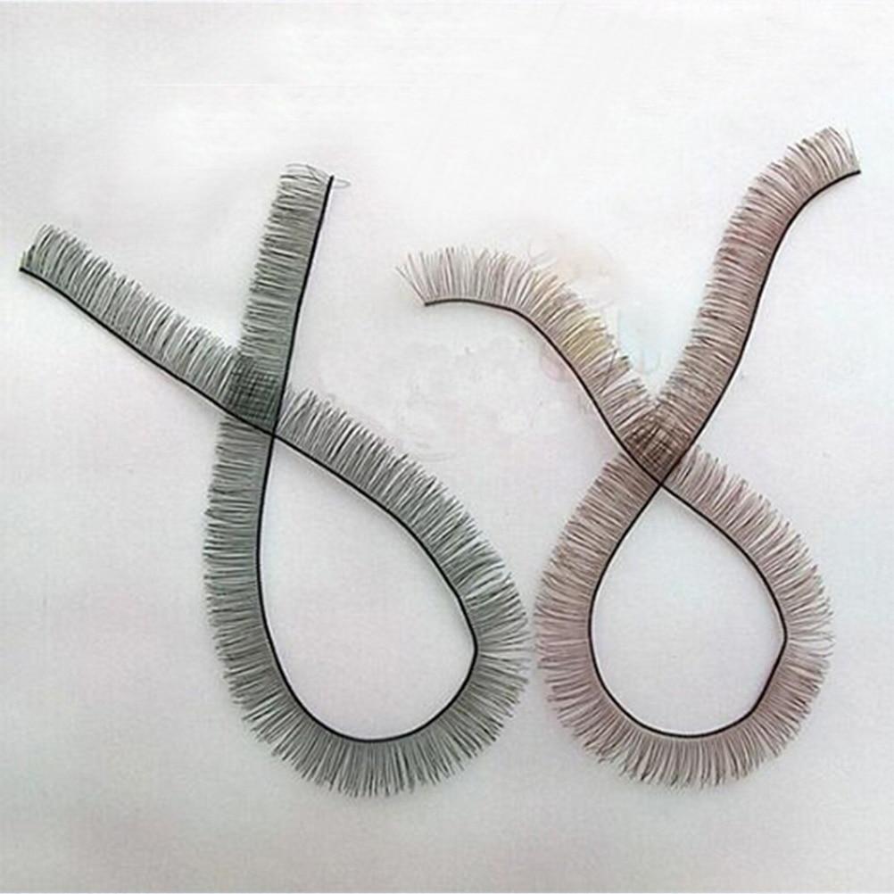 8mm width *20cm length eyelashes for 1/3 1/4 BJD doll or reborn doll accessory Wholesale 1 3 1 4 1 6 1 8 1 12 bjd wigs fashion light gray fur wig bjd sd short wig for diy dollfie