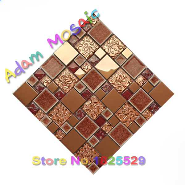Red Ceramic Tile Fireplace Wall Art Deco Mosaic Red Glass Tile Kitchen  Backsplash Brick Wall Kitchen