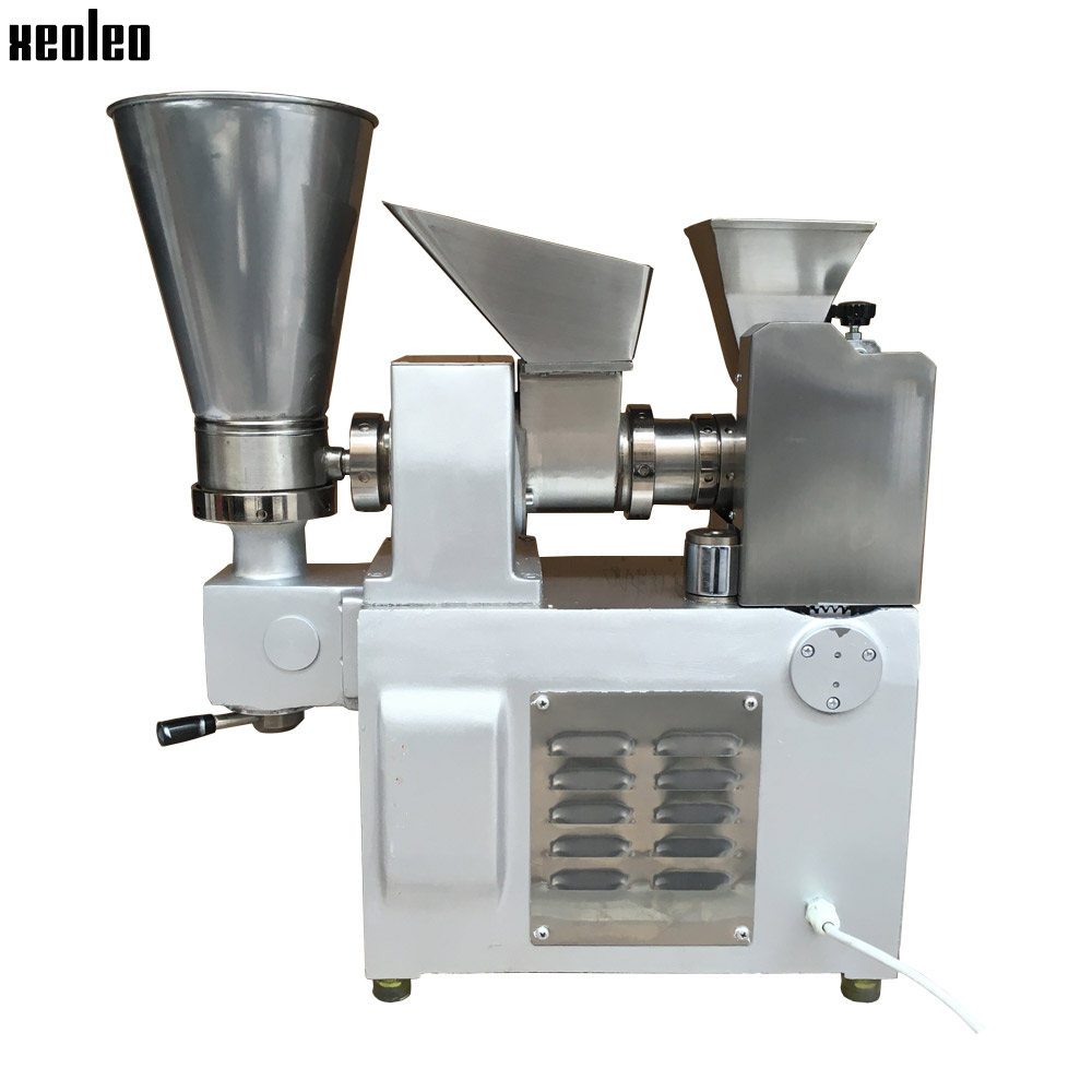 Xeoleo 3600 pcs/h Boulette machine en acier Inoxydable Boulette maker faire Frit Boulette/Samosa/Printemps rouleaux/Huntun Haute qualité