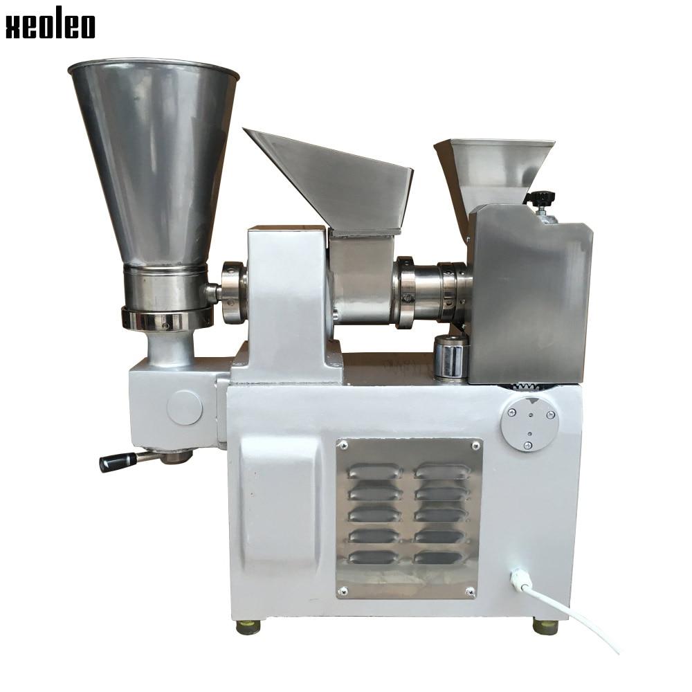Xeoleo 3600pcs/h Dumpling machine Stainless steel Dumpling maker make Fried Dumpling/Samosa/Spring rolls/Huntun High quality dumpling maker manual hand oeprate home use