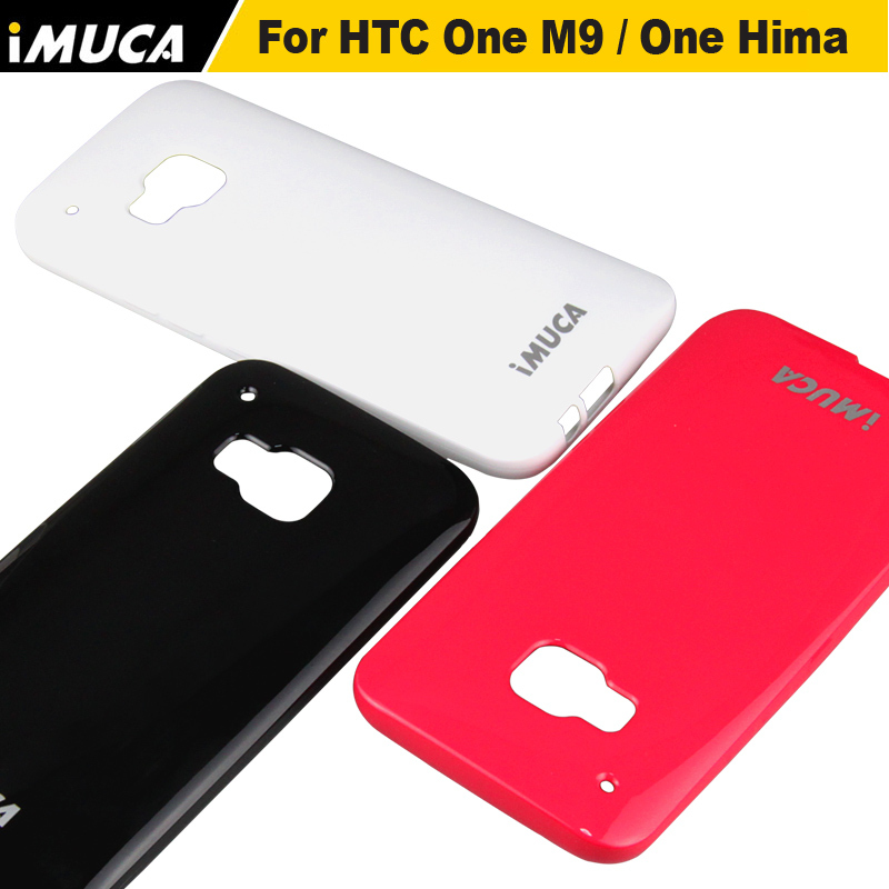 Suave de silicona tpu case para htc one m9 cubierta del teléfono para htc uno m9