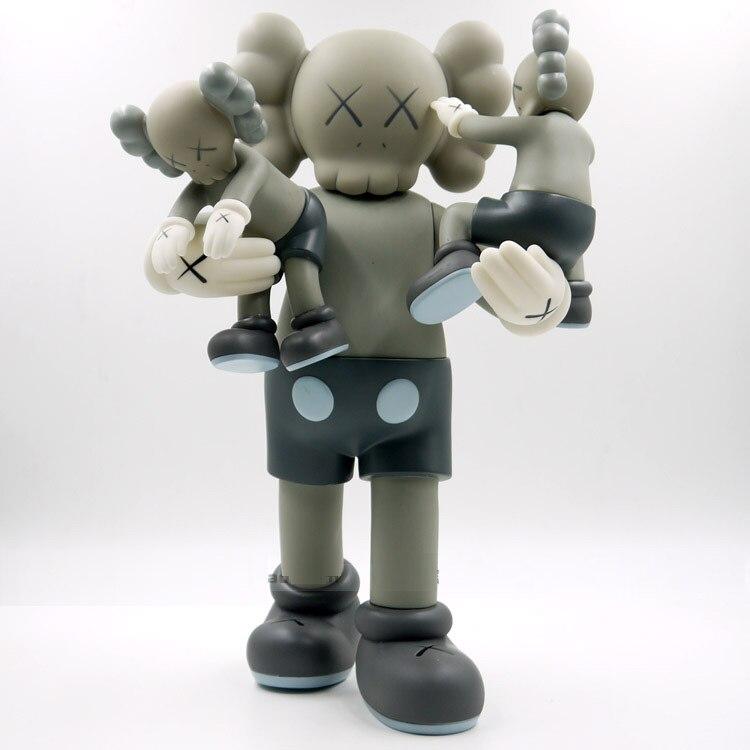 40 cm kaws Original Faux En Plastique Figurines Nouveau 2016 Enfants Jouets Cadeaux Bébé Ardoise Propre Brinquedos avec la boîte
