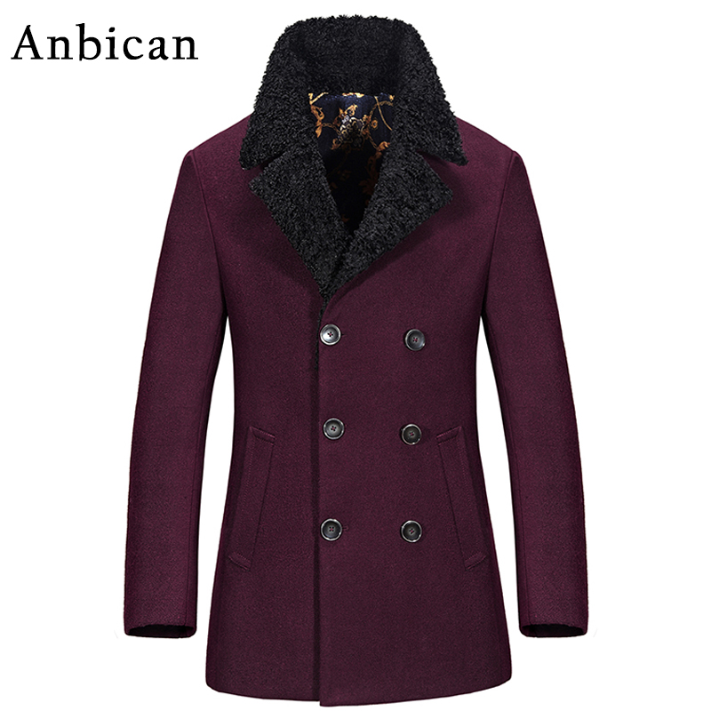 Popular Mens Double Breasted Pea Coat-Buy Cheap Mens Double ...