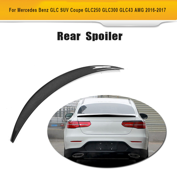 Carbon Fiber Rear Lip Spoiler Window Wing for Mercedes Benz GLC SUV GLC250 GLC300 GLC43 AMG 4 Door 2016-2018 image