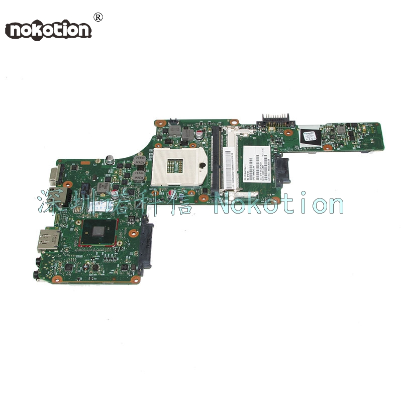 NOKOTION PN 1310A2338411 SPS V000245100 For toshiba satellite L630 Laptop motherboard HM55 Intel HD GMA nokotion laptop motherboard for toshiba satellite a300 a300d v000125610 intel gm965 integrated gma 4500mhd ddr2