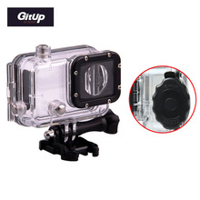 """Free Shipping!30M Waterproof Cover Case for GitUp Git1&Git2 Sports Helmet Action Camera """