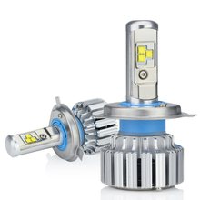 Zdatt 12V H7 H4 H11 H1 H8 H9 Led Bulb Canbus 80W 8000Lm Led Car Light Headlight Bulbs Auto Led Lamps Automobiles 6000K(China)
