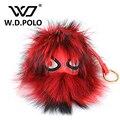 W. D. ПОЛО Новая мода дизайн сумка шарм сумка украшения шикарный монстр Меха новые модные популярные сумки соответствия вещи M2082