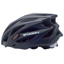 Moon Professional Ultralight Bicycle Helmet Integrally-molded MTB 21 Air Vents Road Bike Helmet Dual Use Cycling Bicycle Helmet