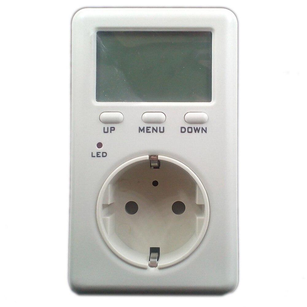 Цифровой измеритель электроэнергии Тестер индикатор монитора Voltag баланс мощности счетчик энергосбережения WF D02A EU AU US UK вилка