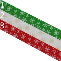 1 25mm Festival Printed Grosgrain Ribbons 03