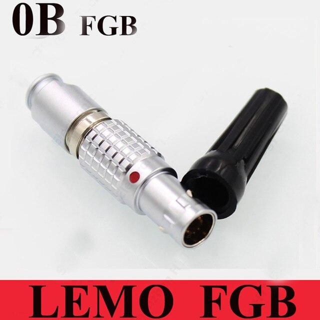 LEMO 0B Connector FGB 0B 2 3 4 5 6 7 9 Pin Connector LEMO FGB.0B. 30 *. CLAD ** Z Twee Keying (60 Graden) Stekker