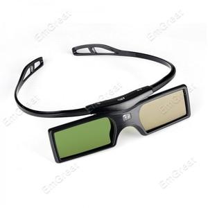 Image 4 - 2 Pz/lotto Bluetooth 3D Active Shutter Glasses Tv per Samsung Panasonic Sony 3D Tv Universale Tv 3D Occhiali Occhiali 3d p0016935