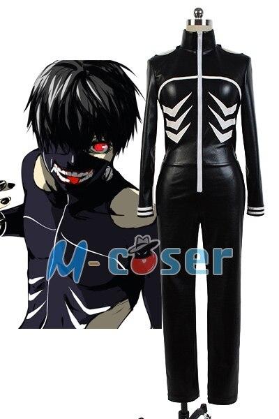 Tokyo Ghoul Ken Kaneki Cosplay Costume Jumpsuit