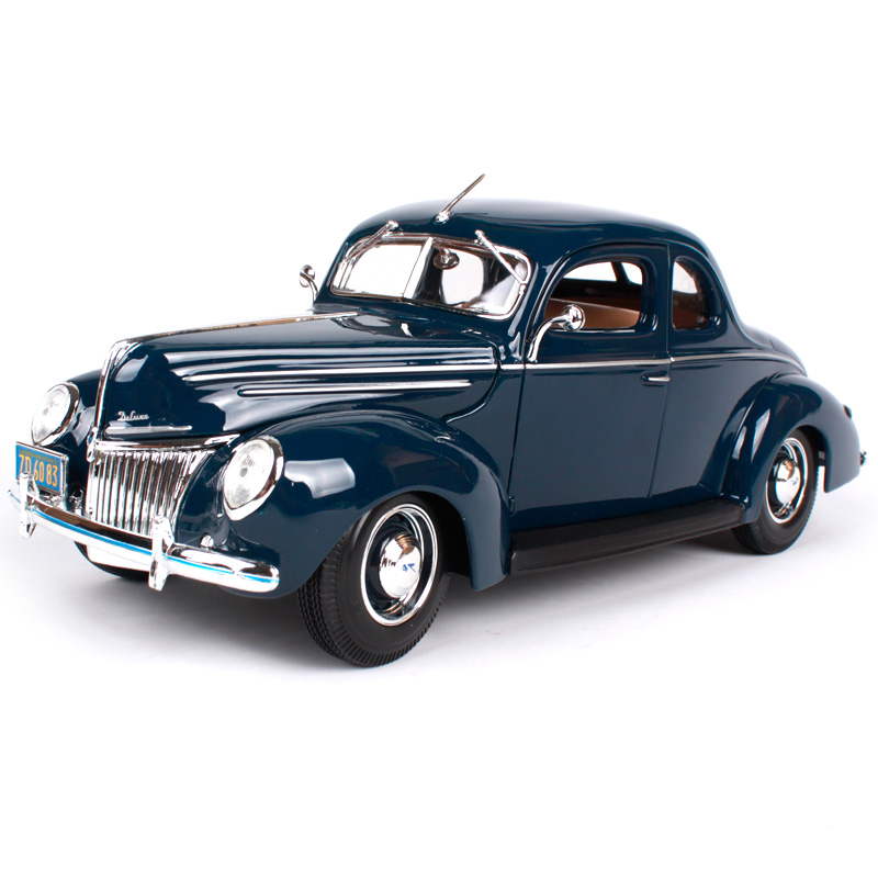 Maisto 118 1939 Ford Deluxe Old Car model Diecast Model Car Toy New In  sc 1 st  AliExpress.com & Compare Prices on 1939 Ford Cars- Online Shopping/Buy Low Price ... markmcfarlin.com