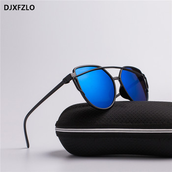 DJXFZLO 2018 new sunglasses women brand designer trendy retro fashion sunglasses colorful pop sunglasses oculos de sol