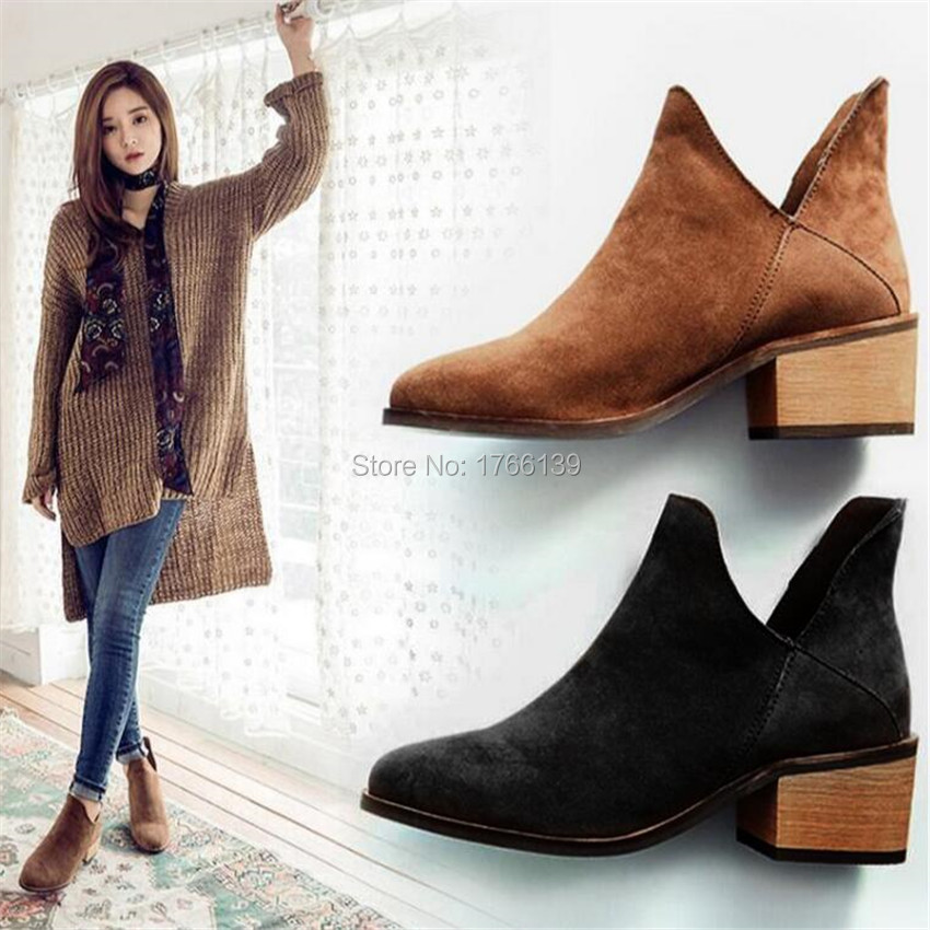 Popular black leather low heel booties of Good Quality and at Affordable Prices You can Buy on AliExpress. We believe in helping you find the product that is right for you.