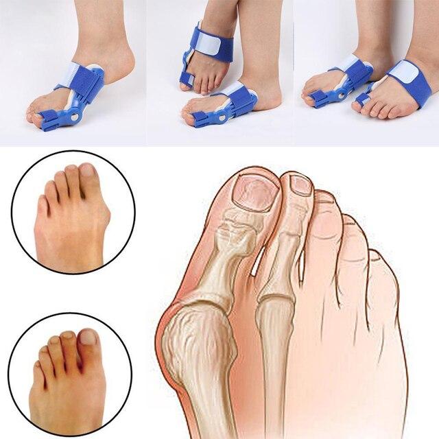 Dobrej jakości duży przyrząd do prostowania palców u nóg zespół cieśni kanału nadgarstka palucha koślawego korektor dzień szyna na noc ulgę w bólu nylon bluk