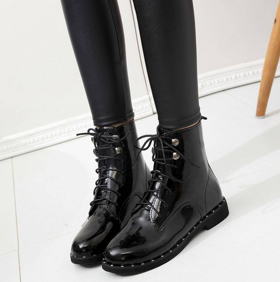 Black Patent Leather Riding Boots Promotion-Shop for Promotional ...