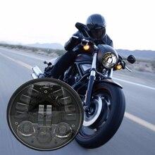 Harley Sportster Motorcycle Adaptive LED Headlights 5 3/4 inch Daymarker Model Adaptive 5.75″ Round Motorcycle LED Headlights