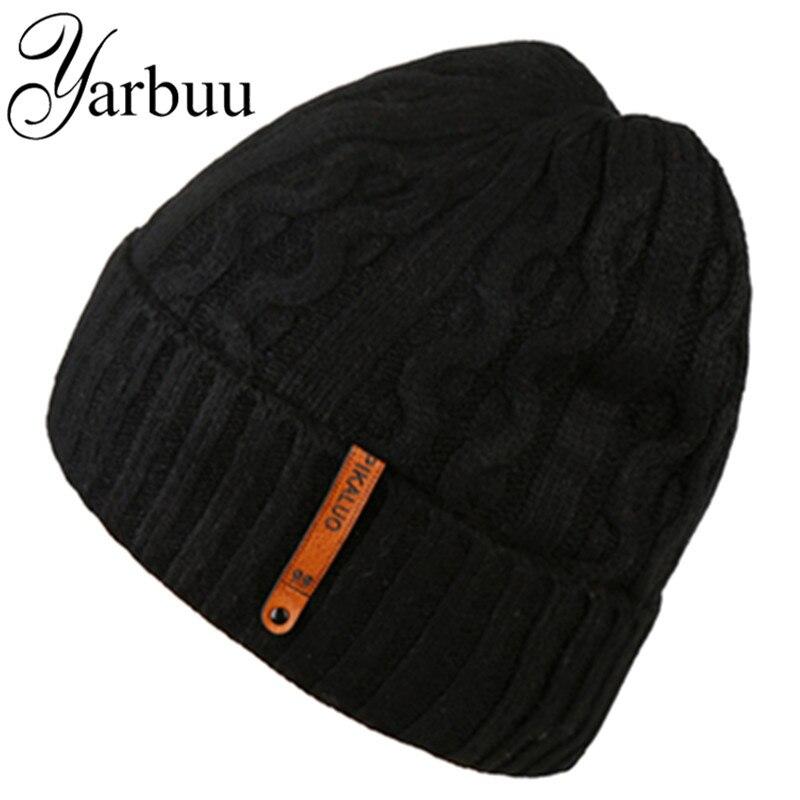 [YARBUU] Trikotāžas cepures ar galviņām, jauni modes cepures vīriešiem, mīkstas un elastīgas cepures, slēpošana, saglabājot siltu aizsargājošu cepuri
