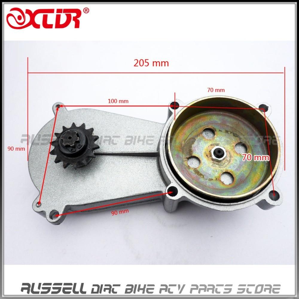 Transmission 47cc 49cc 2 Stroke Clutch Gear Box Pocket