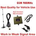 Trabalho na área de sinal fraco melhor qualidade GSM900mhz repetidor GSM impulsionador repetidor GSM 2G rede ampliador para o veículo do carro repetidor