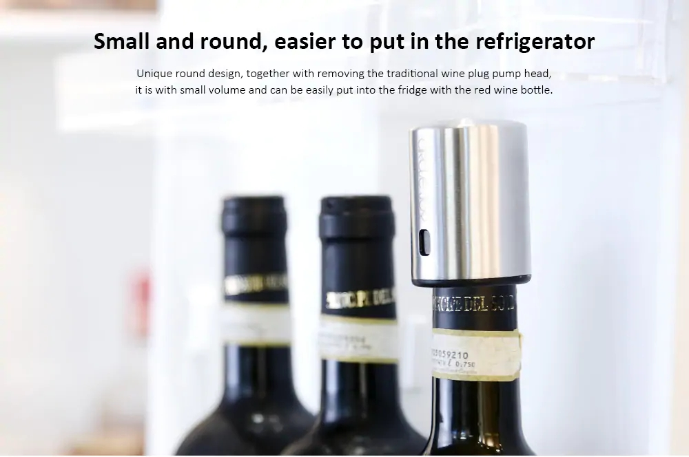 Xiaomi Circle Joy Wine Bottle Stopper Wine Accessories (5)