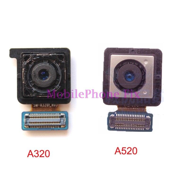 Test de Haute Qualité Retour Arrière Caméra Flex Câble pour Samsung Galaxy A320 A5 2017 A520 A7 2017 A720 16MP Big Principal Cam Pièces De Rechange