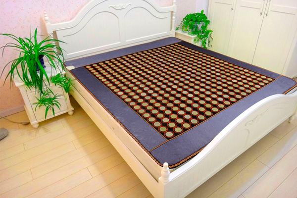 Free Shipping! Natural Tourmaline Cushion Jade Heat Mat Physical Therapy Health Care Mat Yoga Pad Heat AC220 Free Shipping best selling korea natural jade heated cushion tourmaline health care germanium electric heating cushion physical therapy mat