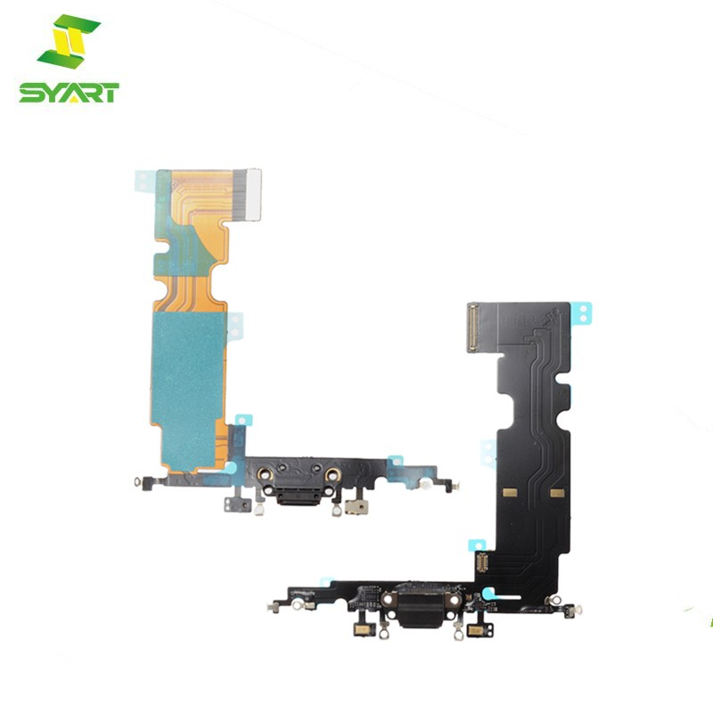 5-10pcs/lot NEW Charger Charging Port USB Dock Connector Flex Cable For iPhone 8 Plus Headphone Audio Jack Replacement