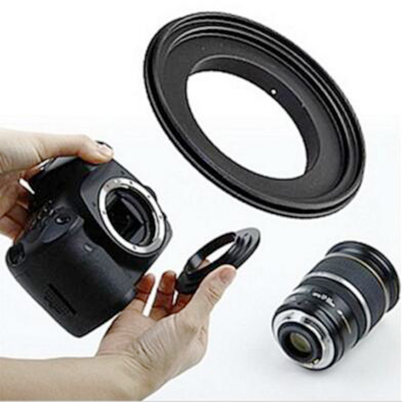 Foleto Lens Adapter Macro Reverse Ring 49 52 55 58 62 67 72 77mm For Canon Eos Camera 500d 600d 700d 5d 6d 7d 60d 70d 5d2 5d3 1d